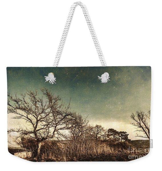 Dead Woodland Weekender Tote Bag