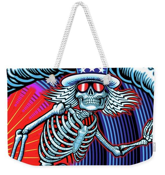 Deadhead Surfer Weekender Tote Bag