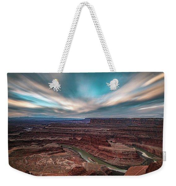 Deadhorse Point Sunrise Weekender Tote Bag