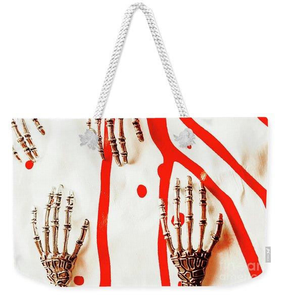 Deadly Design Weekender Tote Bag