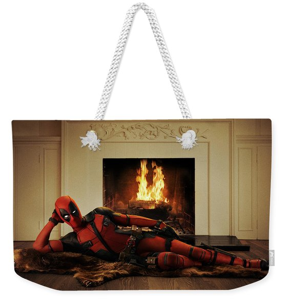 Deadpool 2016 Weekender Tote Bag
