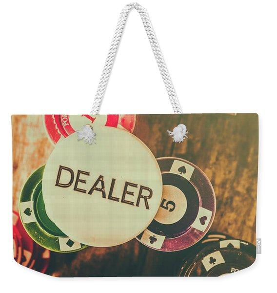 Dealers House Edge Weekender Tote Bag