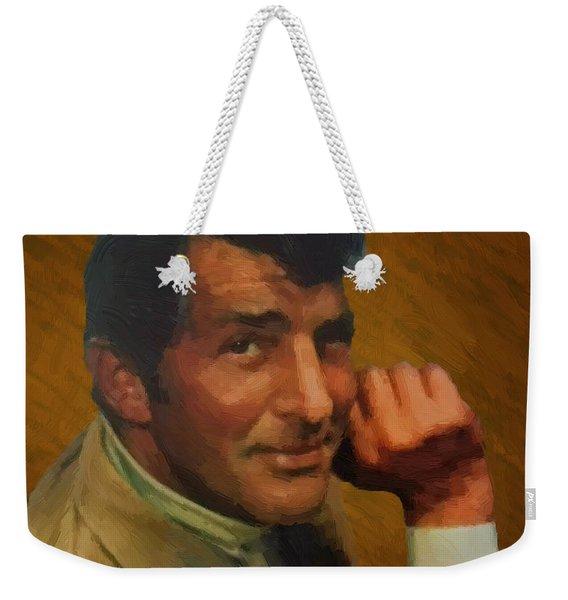 Dean Martin 01 Weekender Tote Bag
