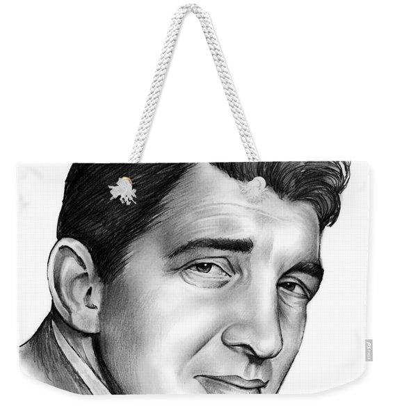 Dean Martin Weekender Tote Bag