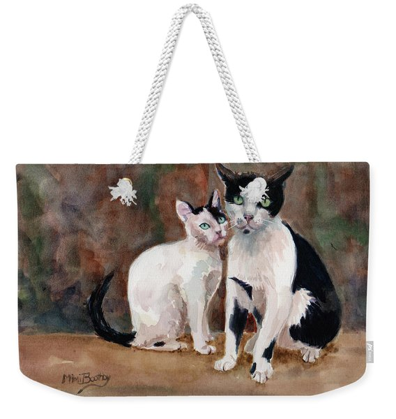 Deano And Sparky Weekender Tote Bag