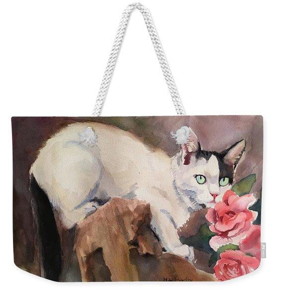 Deano In The Roses Weekender Tote Bag