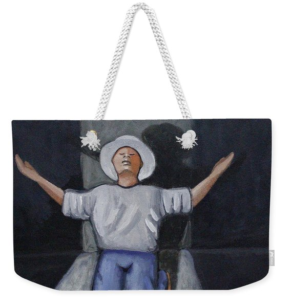 Dear God 7 Weekender Tote Bag