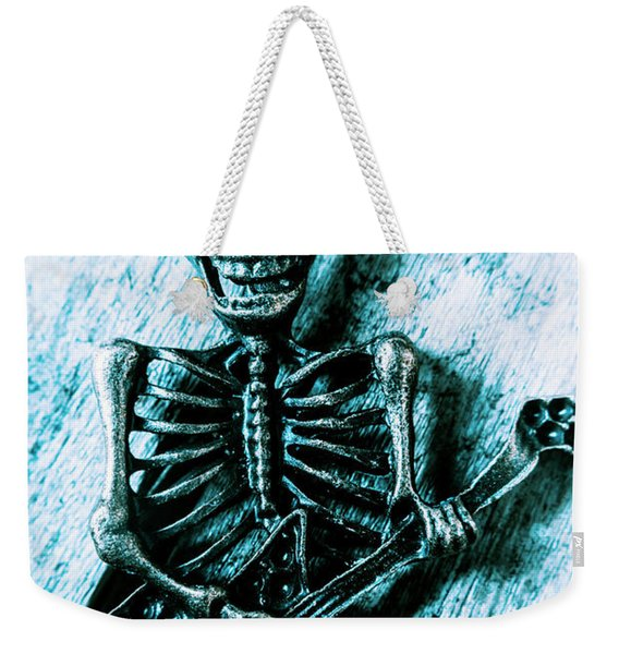 Death Metal Blues Weekender Tote Bag