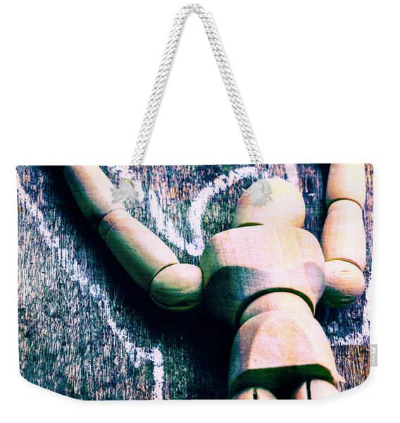 Death Of Art Weekender Tote Bag