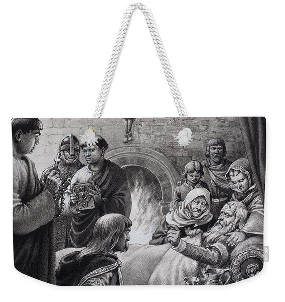 Death Of Edward The Confessor  Weekender Tote Bag