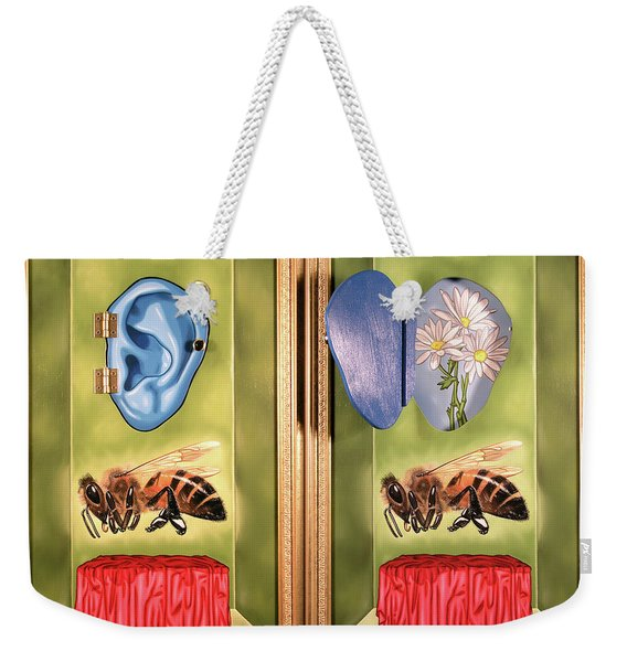 Death Of The Canadian Bee Weekender Tote Bag