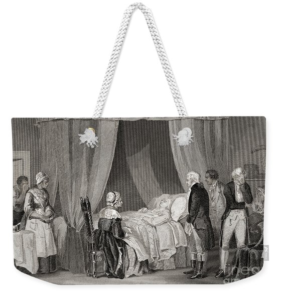 Death Of Washington December 1799 Weekender Tote Bag