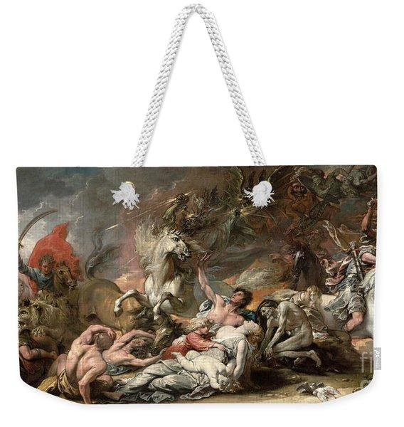 Death On The Pale Horse Weekender Tote Bag