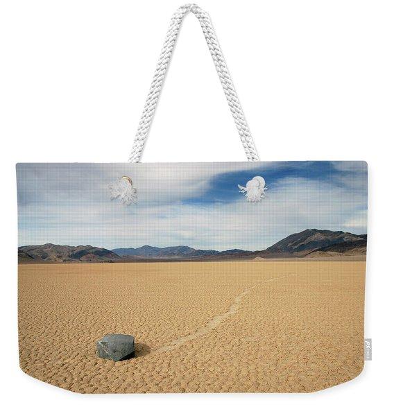 Death Valley Ractrack Weekender Tote Bag