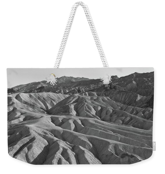 Weekender Tote Bag featuring the photograph Death Valley Rock Formations by Frank DiMarco