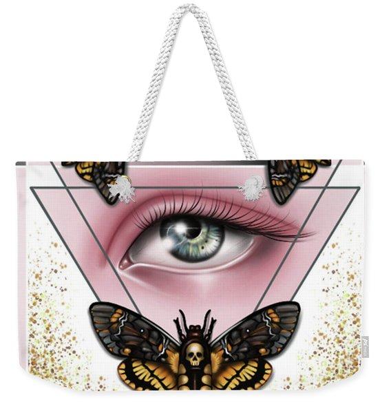 Death's Head Moths Weekender Tote Bag