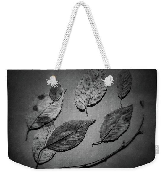 Decaying Leaves Weekender Tote Bag