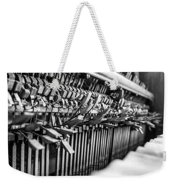 Decaying Piano Weekender Tote Bag