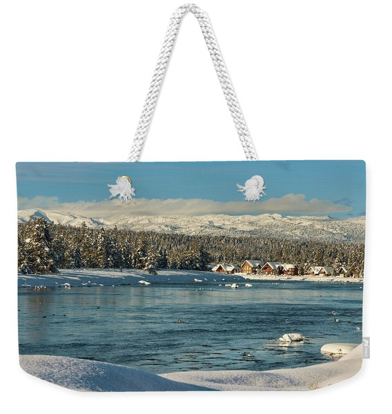 December Dream Weekender Tote Bag
