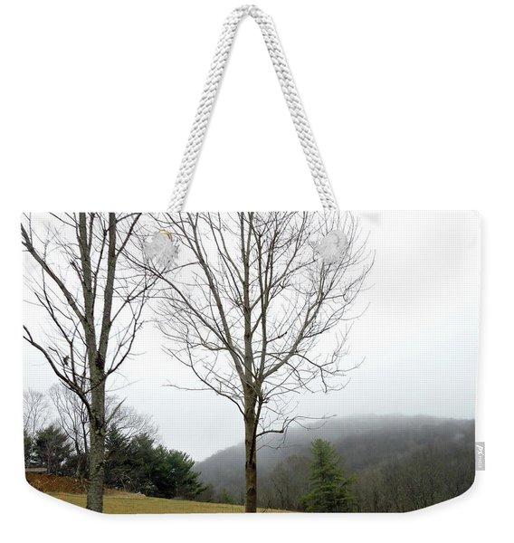 December Mist Weekender Tote Bag
