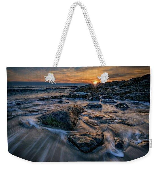 December Sunrise In Ogunquit Weekender Tote Bag