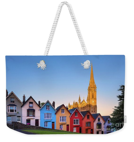 Deck Of Cards And St Colman's Cathedral, Cobh, Ireland Weekender Tote Bag