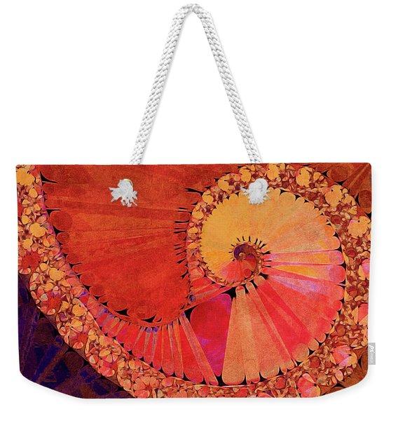 Deco Elemental Weekender Tote Bag