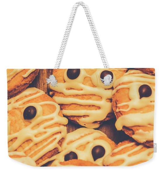 Decorated Shortbread Mummy Cookies Weekender Tote Bag