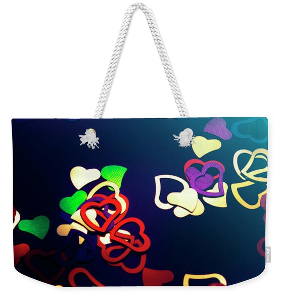 Decorations In Romance Weekender Tote Bag