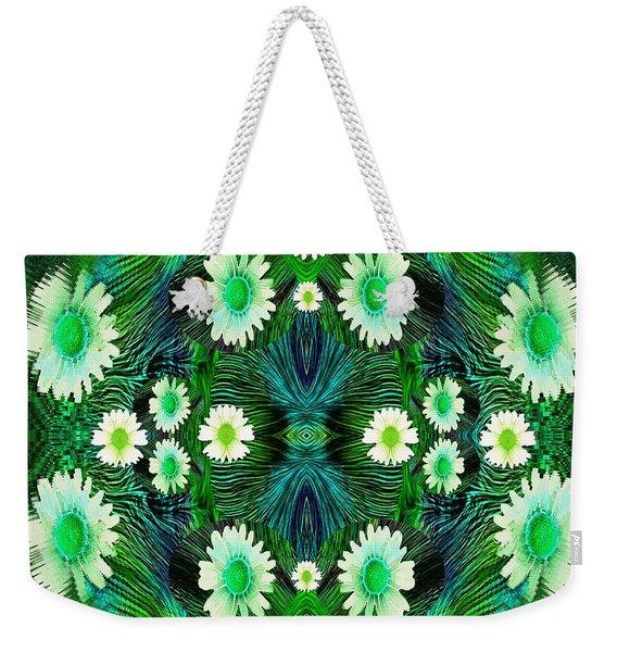 Decorative Abstract Meadow Weekender Tote Bag