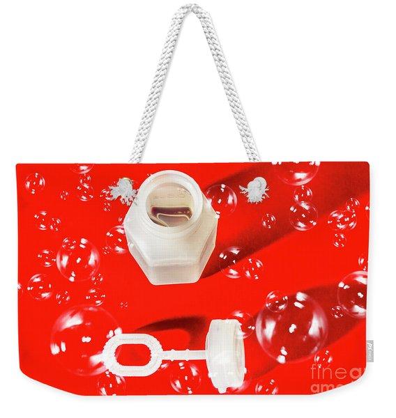 Decorative Christmas Party Weekender Tote Bag