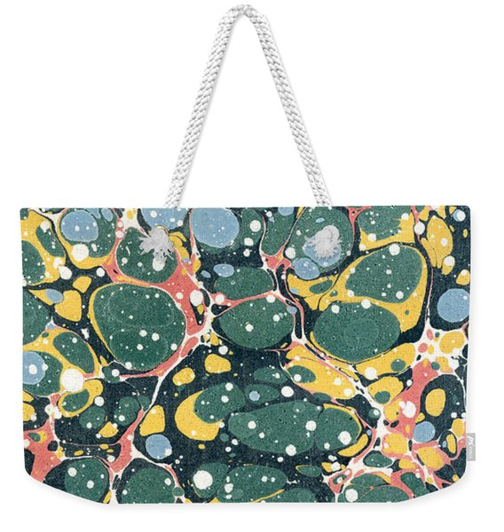 Decorative Endpaper Weekender Tote Bag