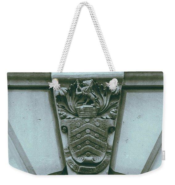 Decorative Keystone Architecture Details C Weekender Tote Bag
