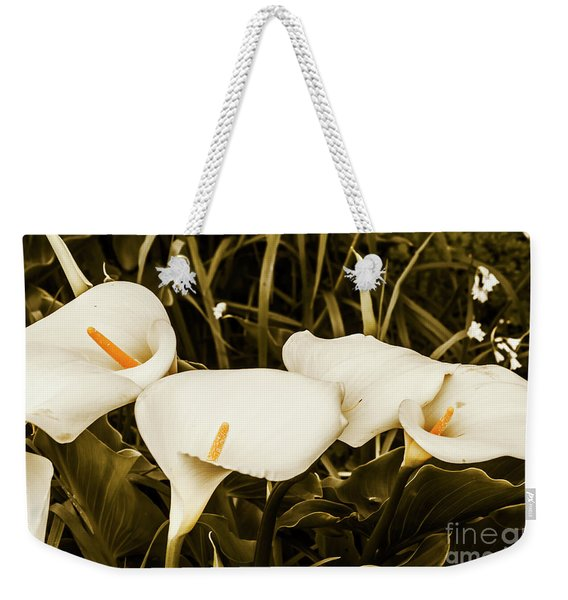 Decorative Spring Garden Weekender Tote Bag