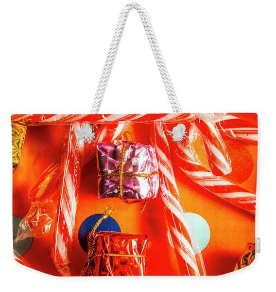 Decorative Xmas Weekender Tote Bag