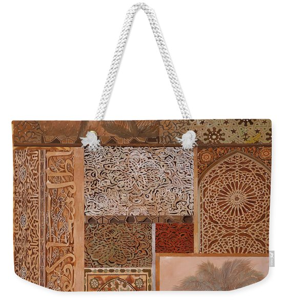Decorazione Arabesca Weekender Tote Bag