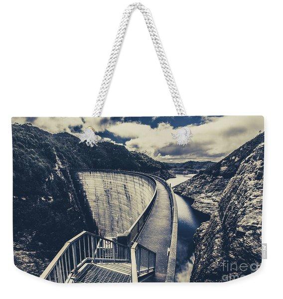 Deep Blue Ravine   Weekender Tote Bag