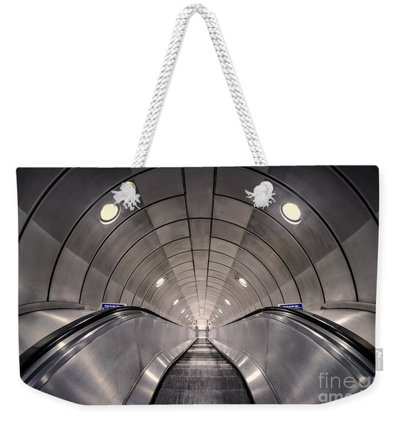 Deep Down Below Weekender Tote Bag