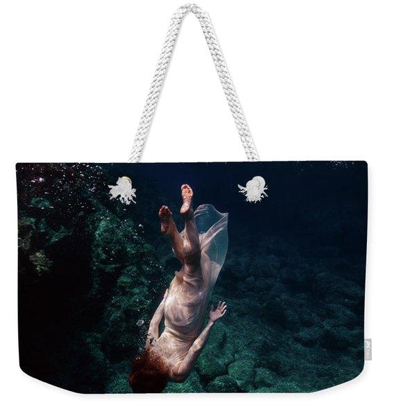 Deep Down  Weekender Tote Bag