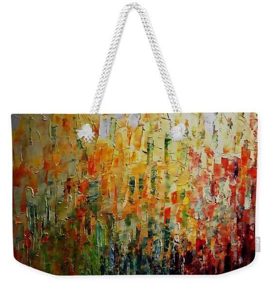 Deep Garden Weekender Tote Bag