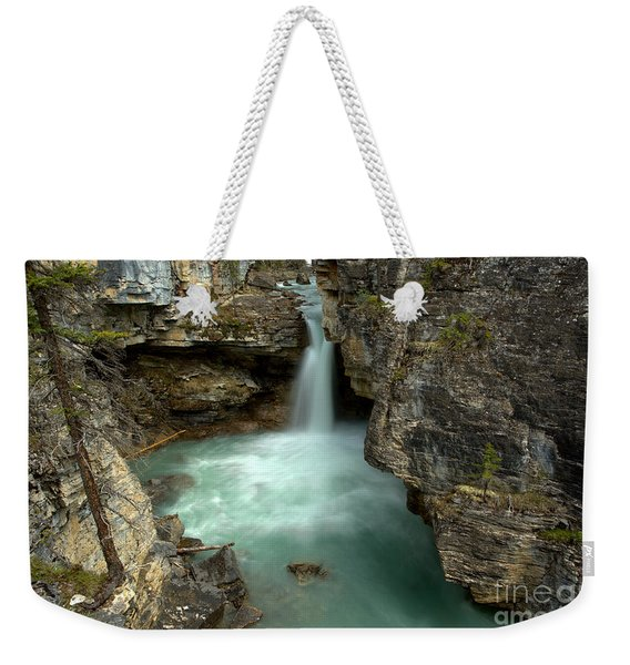 Deep In Beauty Creek Weekender Tote Bag