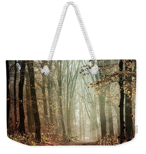 Deep In The Forest Weekender Tote Bag