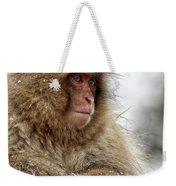 Deep In Thought Weekender Tote Bag
