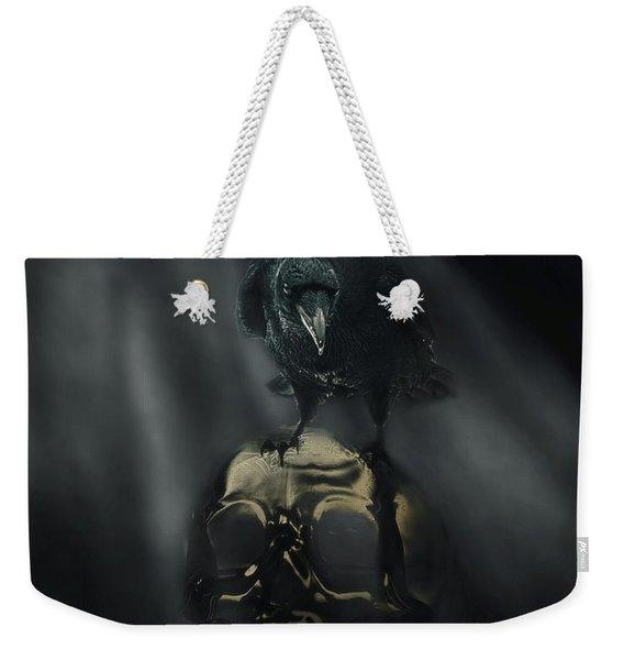 Deep Into That Darkness Peering Weekender Tote Bag