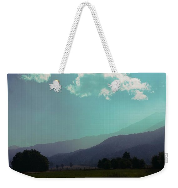 Deep Layers Weekender Tote Bag