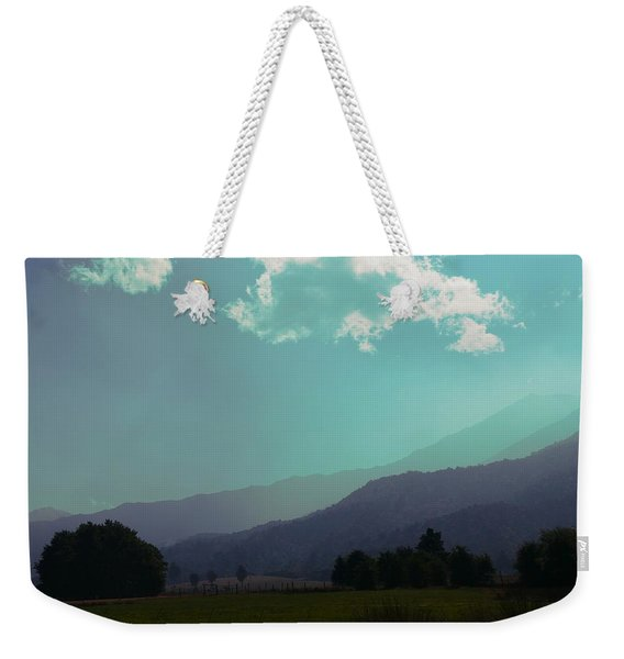 Deep Layers Weekender Tote Bag