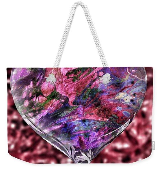 Deep Love Weekender Tote Bag
