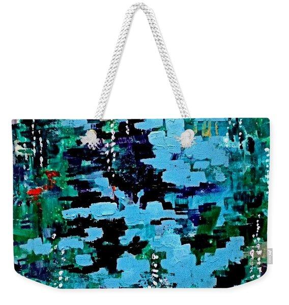 Deep Pool  Weekender Tote Bag