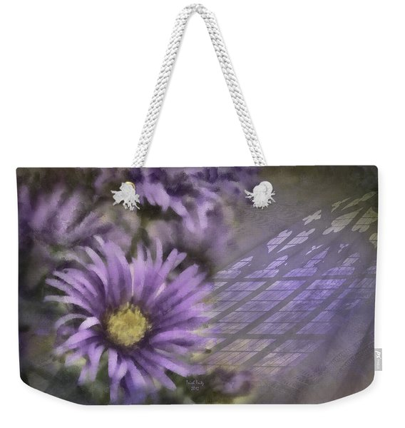 Deep Purple Weekender Tote Bag