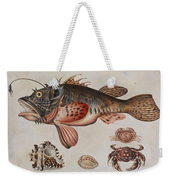 Deep-sea Fish, Crabs And Sea Snails Weekender Tote Bag